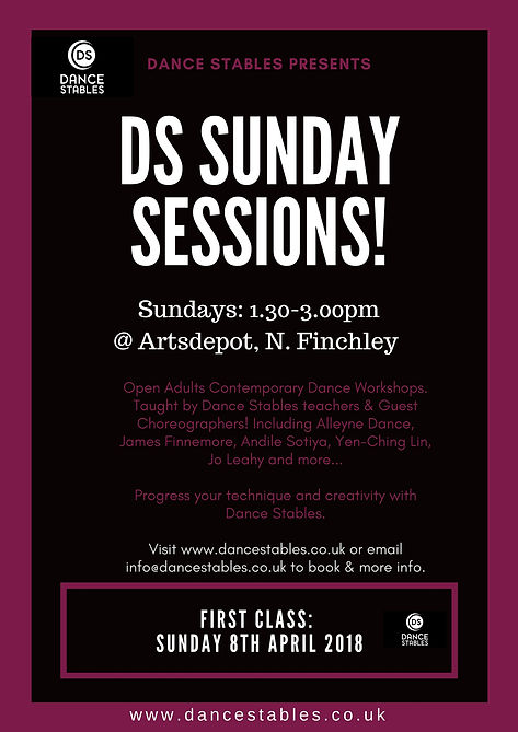 Let the DS Sunday Sessions Commence! | dancestables