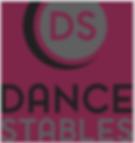 Dance Stables burgundy logo.png