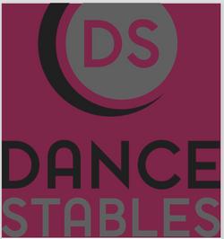 Dance Stables burgundy logo