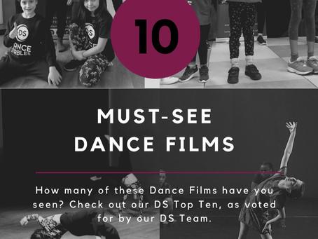 10 Must-See Dance Films