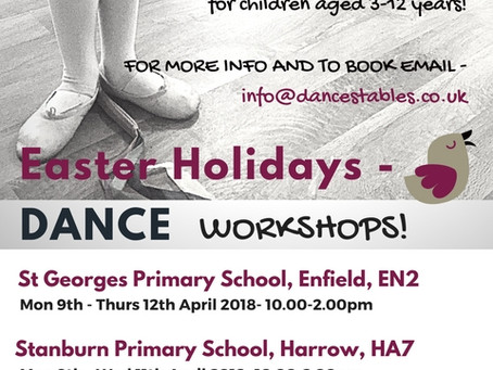 More egg-citing news from Dance Stables this Easter….