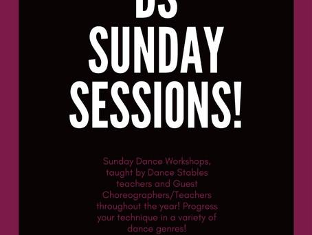 DS Sunday Sessions - Adult Dance workshops!