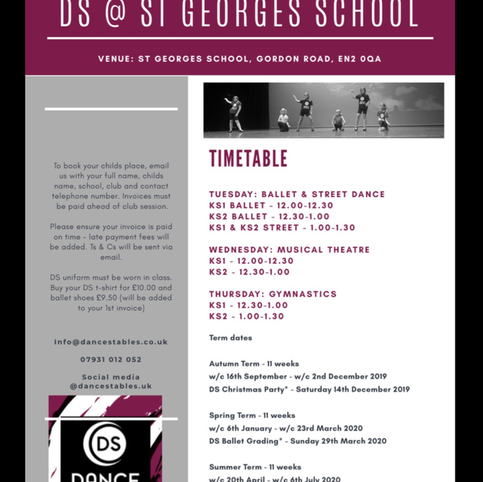 DS @ St Georges