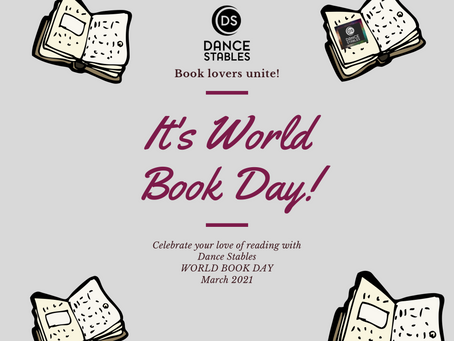 Dance Stables celebrates World Book Day 2021!