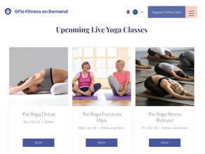 Free Yin Yoga Classes For October 2020