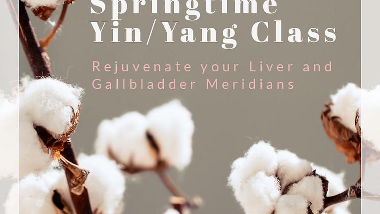 Springtime Yin/Yang | Rejuvenate your Liver and Gallbladder Meridians