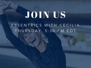 Essentrics with Cecilia
