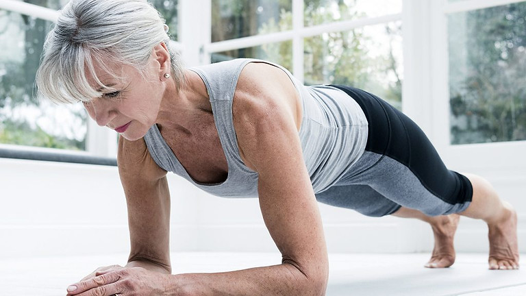 15 Minutes Ab Workout For Women 50+