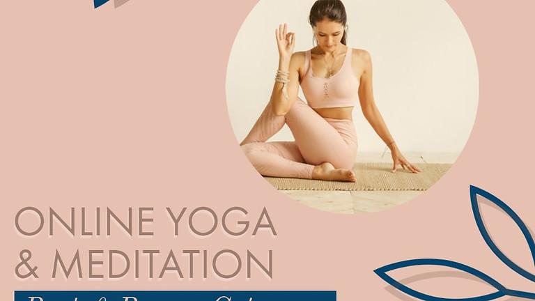 Rest & Renew Online Yoga Getaway