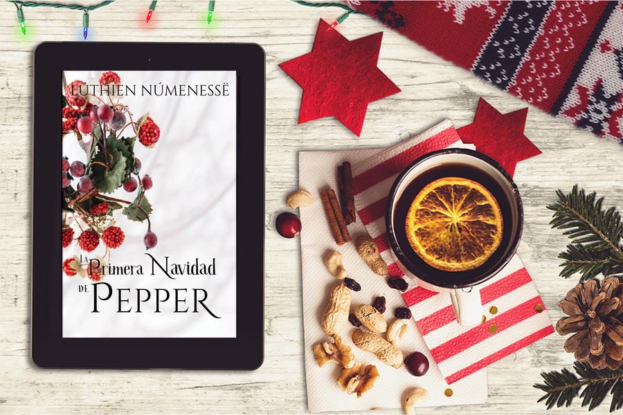Primera Navidad de Pepper