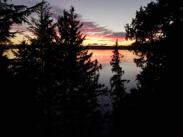 Clover Pass Sunset