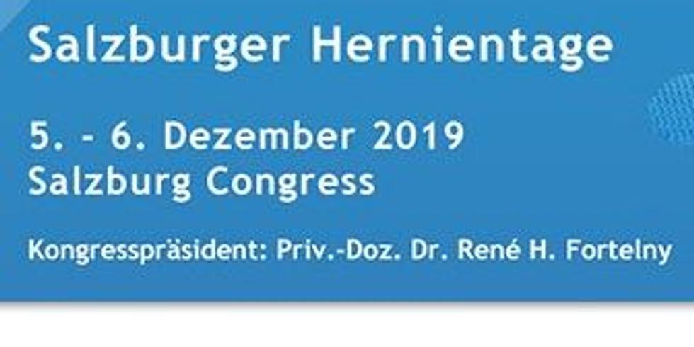 Salzburger Hernientage 2019 (Industrieausstellung und Sponsoring)