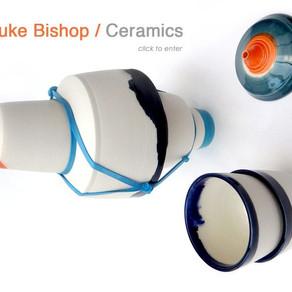 Gorgeous ceramics by Luke Bishop