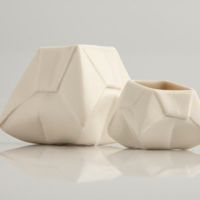 You can now buy Angry Pixie's origami vases at Made Gallery