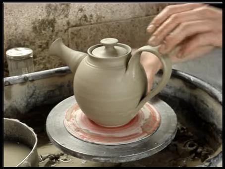 How to throw a tea pot