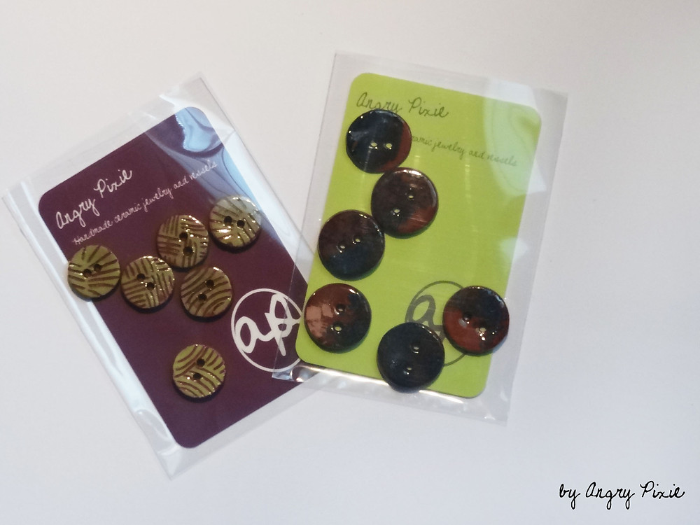 angry pixie buttons
