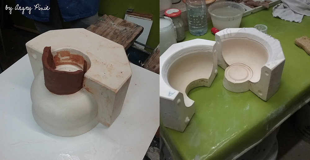 Making bowls for Bol Porridge Bar