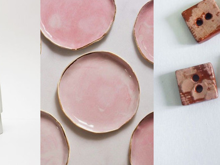 sweet and pastel ceramics
