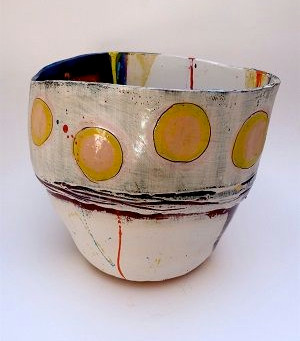 Colourful ceramics by Linda Styles