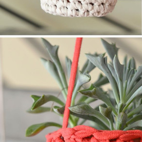 T-shirt yarn projects.