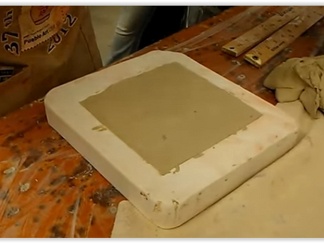 Using The Press Mold