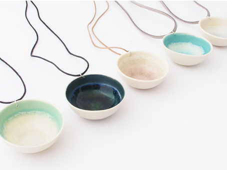 Pretty ceramics by Brittany Delany