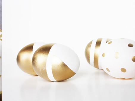 DIY gold+ white