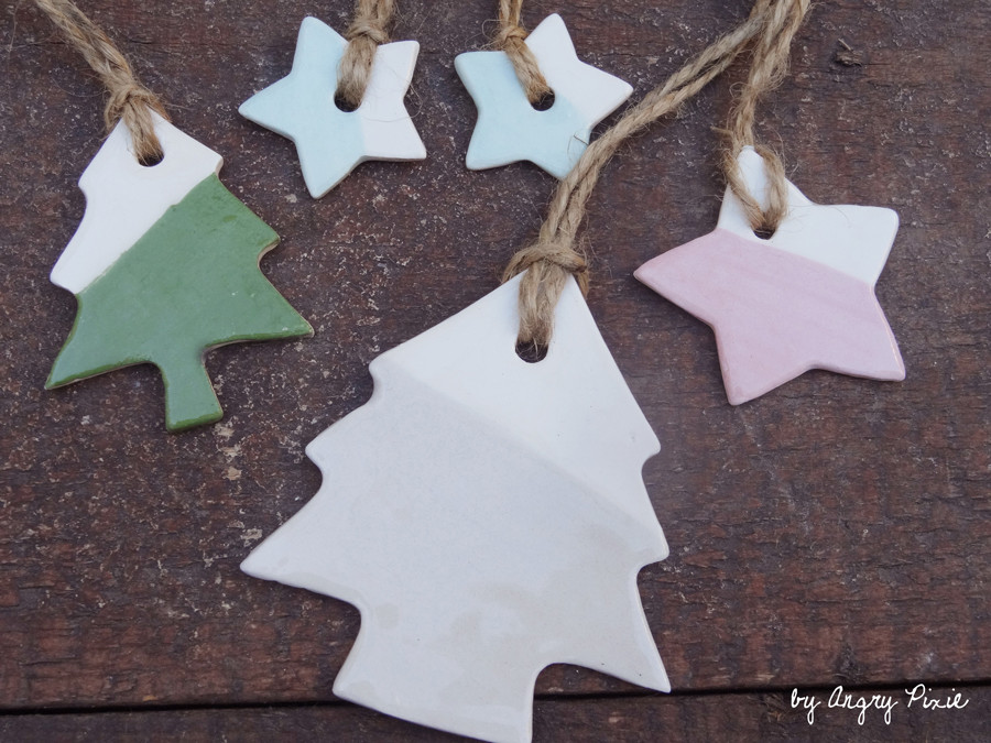 xmas tree decorations by Angry Pixie