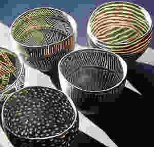 a selection of gorgeous black ceramics.