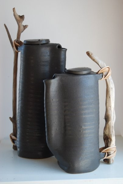 a selection of gorgeous black ceramics.