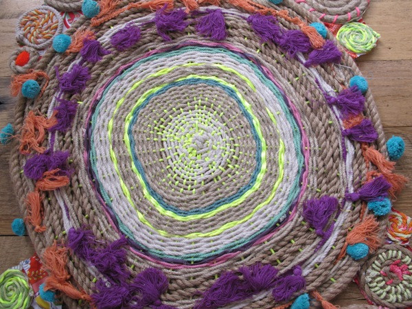 DIY rope tapestries