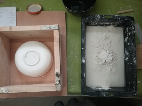 making small bowls for BOL