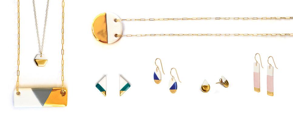Ash Studio's jewelry.