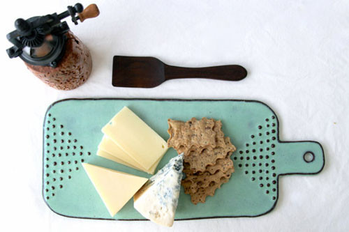 ceramic cheese boards selected by Angry Pixie