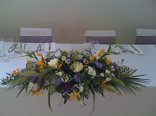 Toptable arrangement