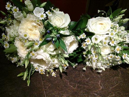 Brides and bridemaids bouquet