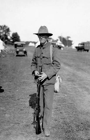 Lt. Des Burke - 1924