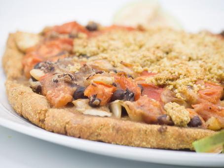 LusOasis's Tomato & Basil Vegan Gluten-Free Pizza