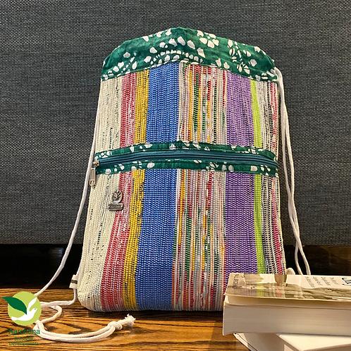 Backpack- Green Multi