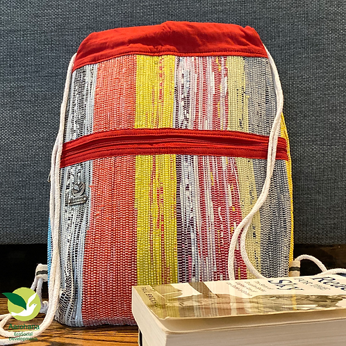Backpack- Red Multi