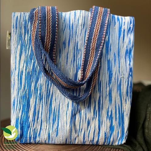 Shop-n-Go Blue+White