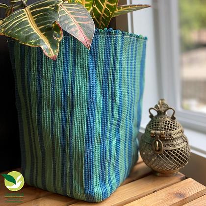 Indoor Grow Pot- Stripe Tease