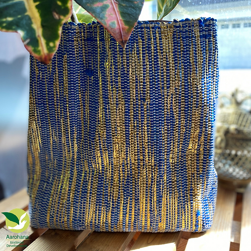 Indoor Grow Pot- Royal Blue