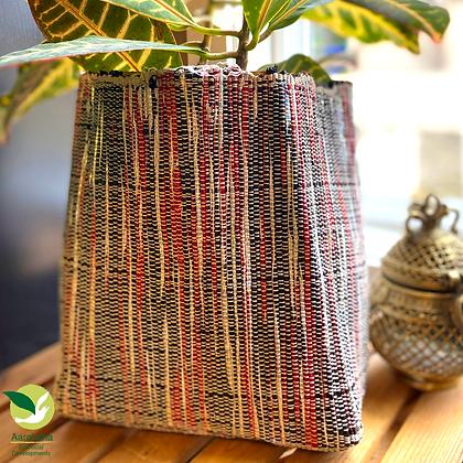 Indoor Grow Pot- Red Black