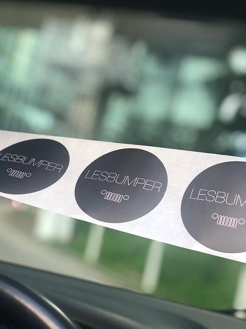 3 Stickers - LES'BUMPER