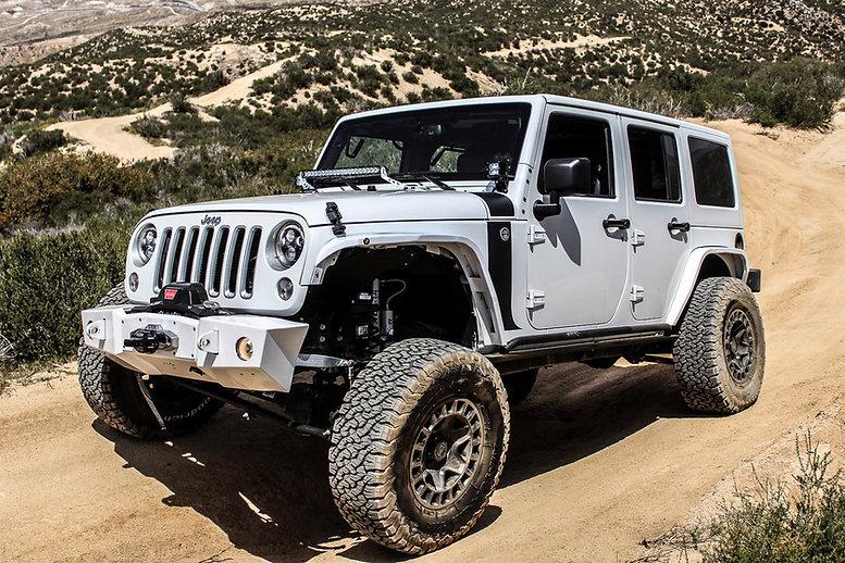 Jeep Wrangler JK on Black Rhino York whe