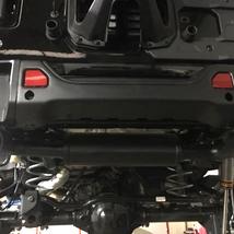 Echappement magnaflow jeep wrangler 2.0 T lesbumper