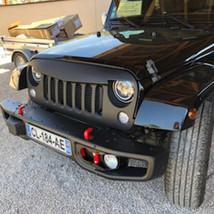 Parechoc avant Mopar 10th lesbumper Jeep swrangler jk