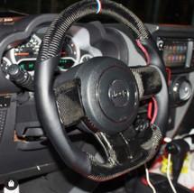 Volant carbon Jeep Wrangler JK lesbumper