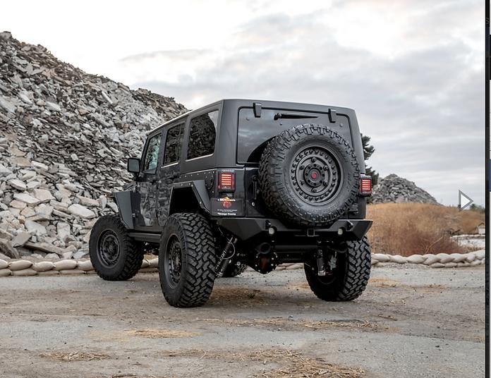 Pare Buffle Jeep Wrangler JK